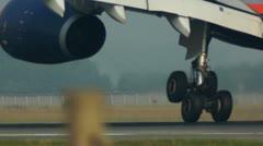 Stock Video Footage of Landing