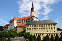 Weesenstein castle Stock Photos