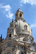 Frauenkirche dome Stock Photos