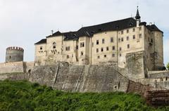 Cesky Sternberk castle - stock photo
