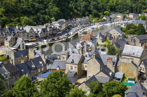 Stock photo of dinan