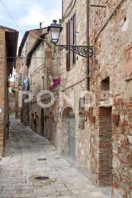 Stock photo of colle di val d'elsa (siena, tuscany)