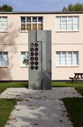 Memorial at Bletchley Park - stock photo
