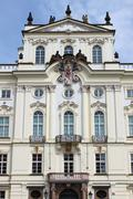 Archdiocese palace of Prague - stock photo