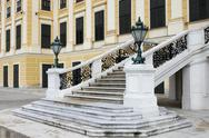 Stock Photo of Staircase of Schonbrunn castle