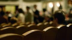 Auditorium - stock footage