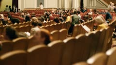 Auditorium Stock Footage