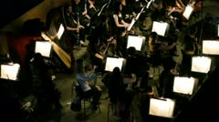 Symphony orchestra - stock footage