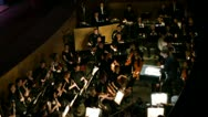 Stock Video Footage of Symphony orchestra