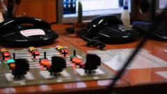 Control room - stock footage