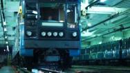Depot of subway Stock Footage
