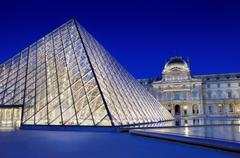 pyramid. - stock photo