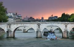 Pont marie. Stock Photos