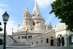 Fishermen's bastion - budapest Stock Photos