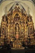 Altarpiece in cadaques Stock Photos