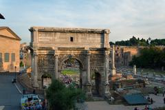 Arch of titus Stock Photos