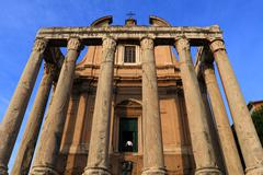 Stock Photo of temple of antoninus