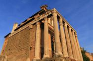 Stock Photo of temple of antoninus