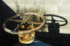 Safety valve Stock Photos