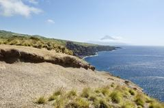 Stock Photo of landscape in faial, azores