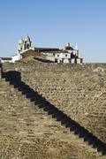 medieval village of monsaraz, alentejo, portugal - stock photo