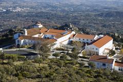 Convent of senhora da estrela Stock Photos