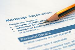 Loan application Stock Photos
