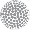 Stock Illustration of golfball outline