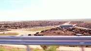 Stock Video Footage of Huge cattle meat processing plant in Kansas.