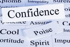 confidence concept - stock photo