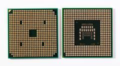 Laptop processors Stock Photos
