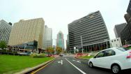 Downtown Pittsburgh Driving POV Stock Footage