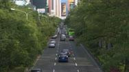 Taiwan Traffic Timelapse Stock Footage
