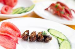 chinese dinner - stock photo