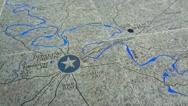 Stone Map Bowling Green 1 HD College Street Bridge Stock Footage