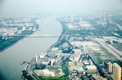 Guangzhou maiseman Kuvituskuvat