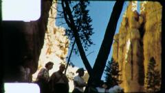 BRYCE CANYON National Park 1960s Vintage Film Home Movie 4882 Stock Footage