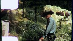 Forest Ranger BRYCE CANYON National Park 1960s Vintage Film Home Movie 4883 Stock Footage
