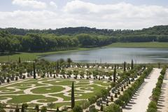 Stock Photo of park of the palace of versailles