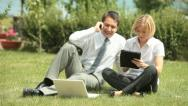 Countryside business Stock Footage