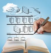 Stock Illustration of open book