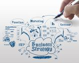 Stock Illustration of business strategy process