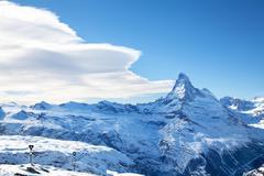 matterhorn peak - stock photo