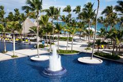 Hotel in punta cana 2 Stock Photos