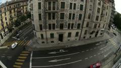 Geneva street Stock Footage