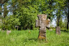 Ancient cross Stock Photos