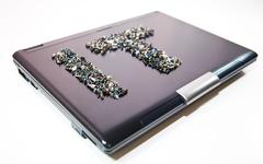 it laptop - stock photo
