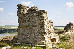 hotin ruins - stock photo