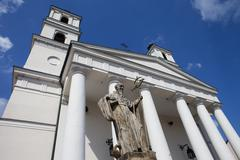St. Alexander's Church in Suwalki, Poland Stock Photos