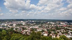 lvov city 3 - stock photo